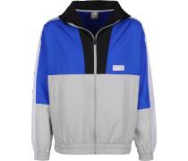 MJ91506 Herren Windbreaker grau blau