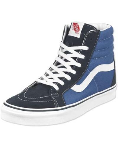 Vans Herren Sk8 Hi Sneaker Schuhe blau weiß blau weiß