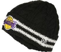 Team Stripe NBA Knit Los Angeles Lakers Beanie
