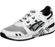 Asics Gel Lyte III Schuhe weiß schwarz