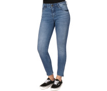 NMKimmy Damen Jeans blau