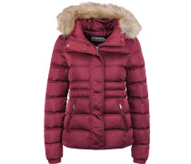 Short Down Fitted Puffer Daunenjacke