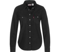 Ultimate Western Langarmhemd Damen schwarz