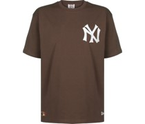 New York Yankee Overized Embroidery T-hirt
