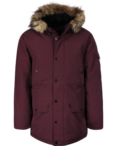 Anchorage Parka Herren amarone/black