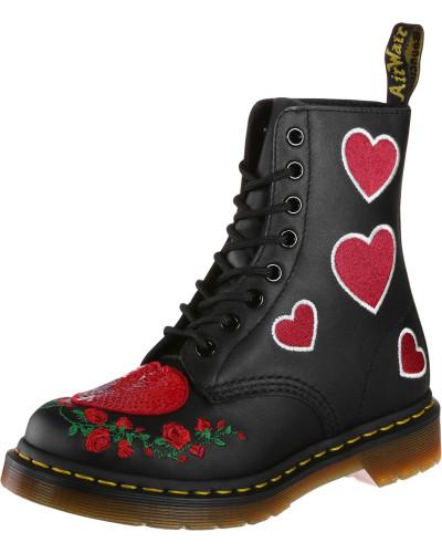 Pascal Hearts Damen Stiefel schwarz