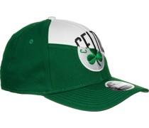 NBA Team Split Stretch Snap Boston Celtics Cap