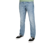 ED-55 Regular Tapered Herren Jeans blau