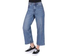 NMPaige Damen Jeans blau