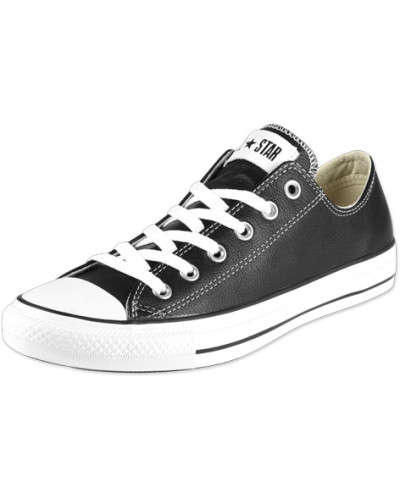 Converse Herren All Star Ox Leather Schuhe schwarz