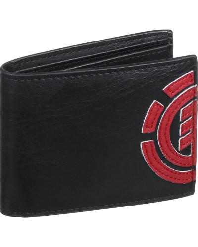 Daily Geldbeutel schwarz rot