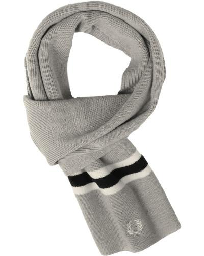 Merino Wool Schal grau