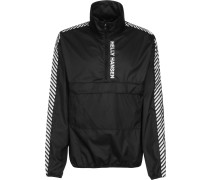 Vector Packable Herren Windbreaker chwarz
