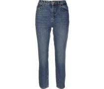 NMIsabel Damen Jeans blau