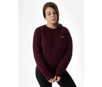 Organic Cotton Quilt Crew Sweater