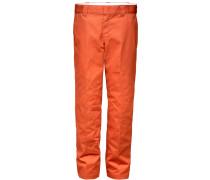 873 Slim Straight Work Pant Herren Chino orange