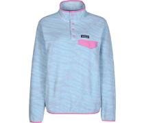 LW Synch Snap-T Damen Fleecepullover blau