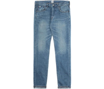 Classic Regular Tapered Herren Jeans blau