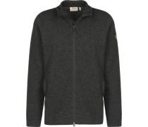 High Coat Wool Fleecejacke
