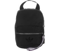Mini Damen Rucksack schwarz