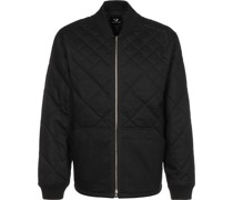 Quilted Bomber Jacke