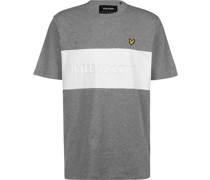 Colourblock Embroidered Logo T-hirt