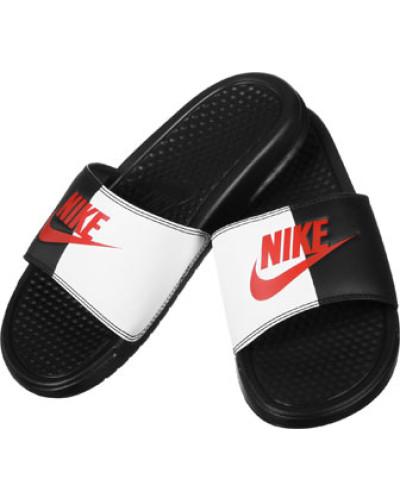 Nike Herren Benassi Jdi Badeschuhe schwarz rot Hohe Qualität Online Kaufen Kaufen Sie Günstig Online Preis FgMnUWvtnl