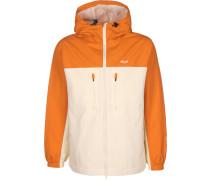 tandard hell Herren Windbreaker orange