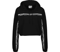 Velours Cropped Hoodie