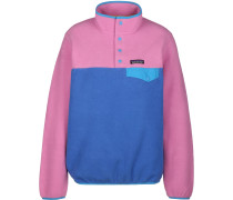 LW Synch Snap-T Daen Fleecepullover pink blau