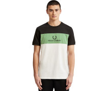 Embroidered Panel T-hirt