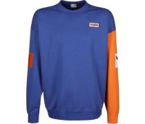 Colour Block Crew Herren weater blau