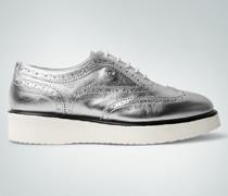 Schuhe Budapester-Sneaker im Metallic-Look