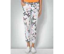 Damen Golfhose mit Schmetterlingen