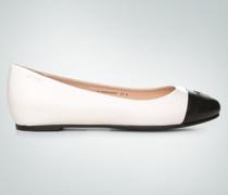 Damen Schuhe Ballerinas mit Kontrast-Kappe