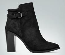 Damen Schuhe Stiefeletten aus Vintage-Veloursleder