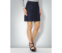 Damen Jeansrock mit Zierstreifen