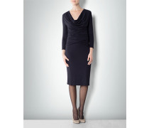 Damen Kleid mit Taillen -Drapé