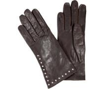 Damen Handschuhe, Leder,