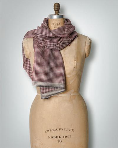 Damen Schal im Pepita-Dessin
