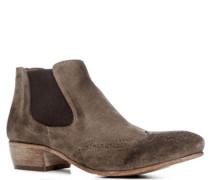 Damen Schuhe Chelsea Boot Veloursleder