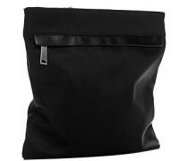 Damen Tasche Nylon schwarz