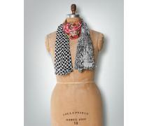 Damen Schal mit dreierlei Muster