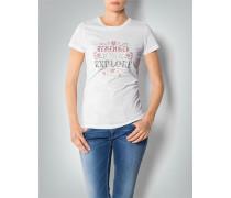 Damen T-Shirt mit dekorativem Print