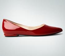 Damen Schuhe Ballerinas in Lackoptik