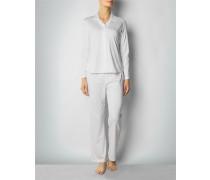 Damen Nachtwäsche Pyjama aus weicher Jersey-Qualität