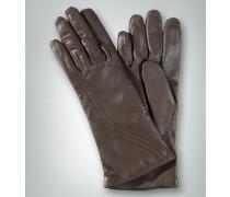Damen Fingerhandschuh mit Ziernähten