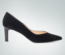 Damen Schuhe Pumps mit Lack-Absatz