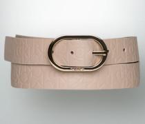 Gürtel Gürtel mit Allover-Logo