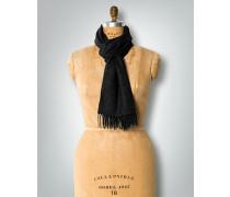 Damen Schal, Kaschmir, schwarz